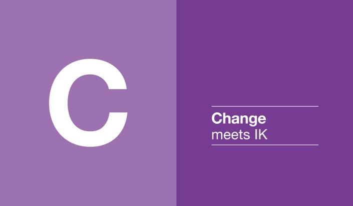 Change meets IK