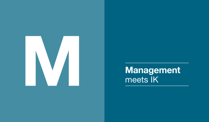 Management meets IK