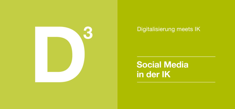Digitalisierung 3 - Social Media in der IK